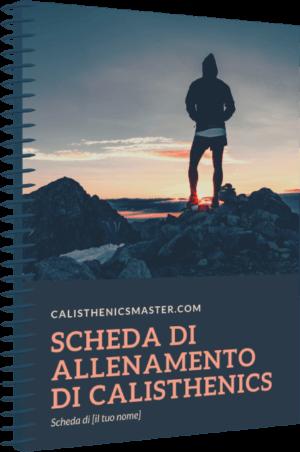 scheda calisthenics personalizzata