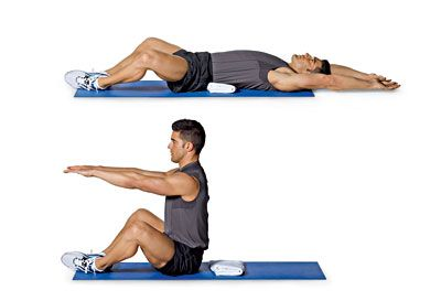 curvatura schiena sit ups